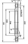 Фланцы стальные плоские приварные (ГОСТ 12820-80)