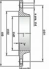 Фланцы стальные приварные встык (ГОСТ 12821-80)